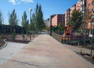 Acondicionamiento del Parque de Valderribas en Vicálvaro (Madrid).