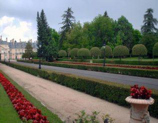 Jardines del Palacio de El Pardo.