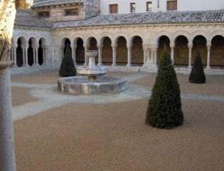 Restauración del jardín de las Claustrillas en el Real Monasterio de las Huelgas. (Burgos).