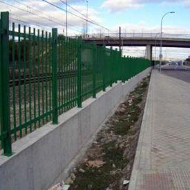 Cerramiento Tipo M trayecto Vicálvaro-Coslada.(Comunidad de Madrid).