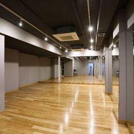 Rehabilitación de la escuela de música de Madrid.Escuela de danza.Espejos.